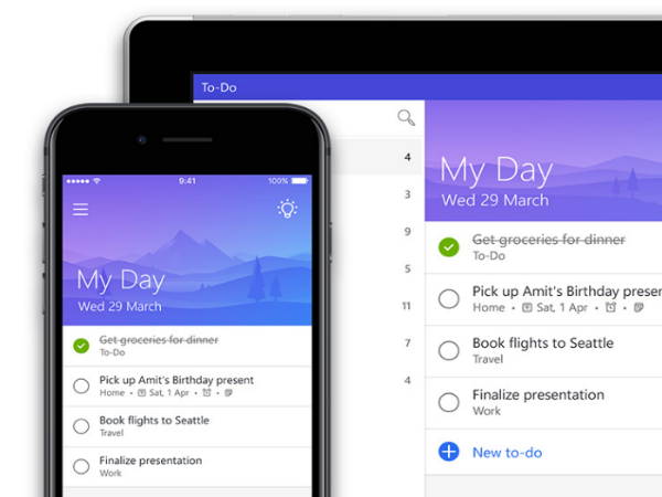 Microsoft-To-Do takenlijst